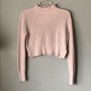 LA Hearts Off White Knit Sweater